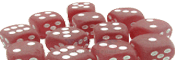 Chessex 16mm Frosted
