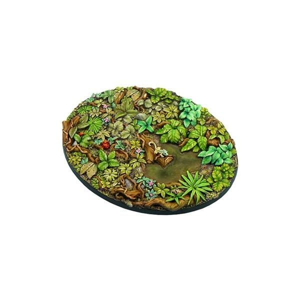 JUNGLE BASES: Oval 120mm (1)