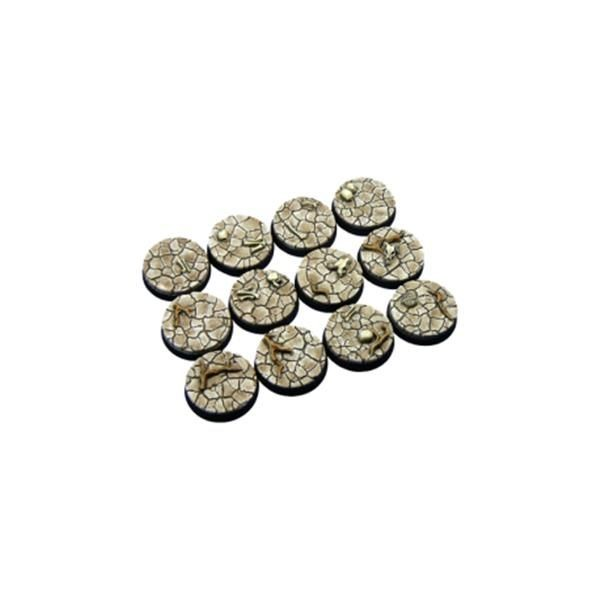 WASTELAND BASES: Round 25mm (5)