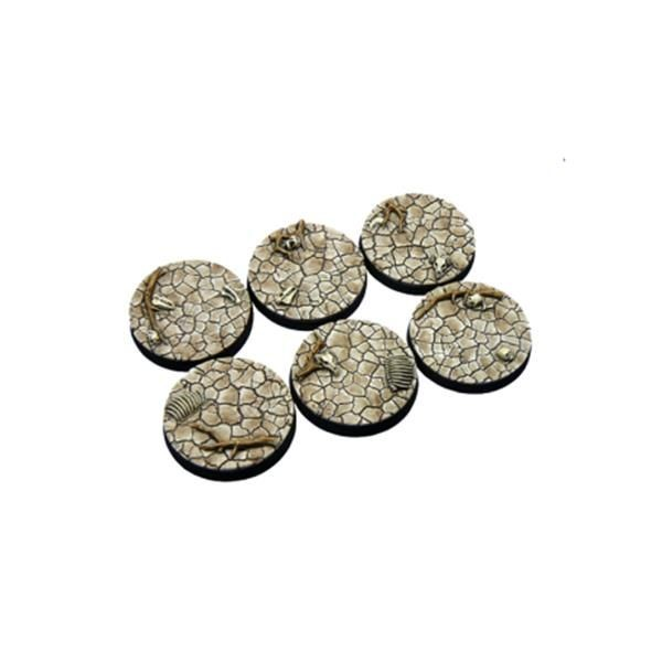 WASTELAND BASES: Round 40mm (2)