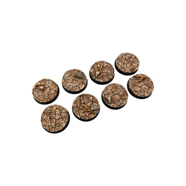 WASTELAND BASES: 32mm Round (4)
