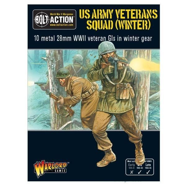BOLT ACTION: US Veterans Squad (Winter)