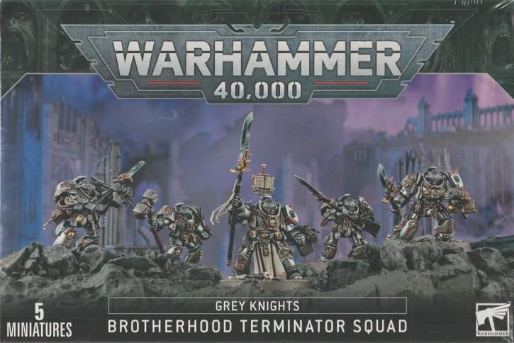 W40K: Grey Knights Paladin / Terminator Squad