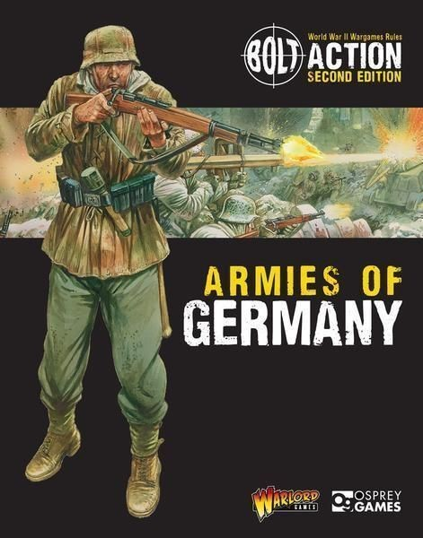 BOLT ACTION: Armies of Germany 2nd Edition - EN