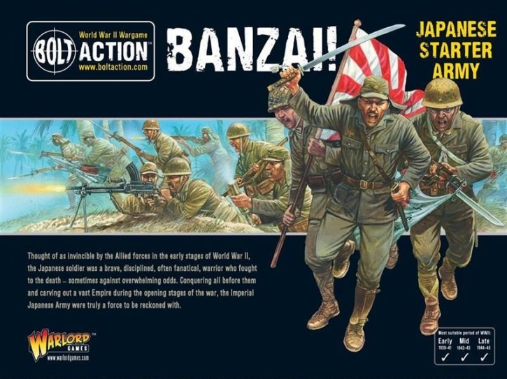 BOLT ACTION: Banzai! Japanese Starter Army