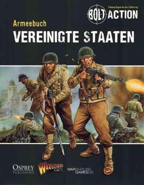 BOLT ACTION: Armeebuch Vereinigten Staaten - DE
