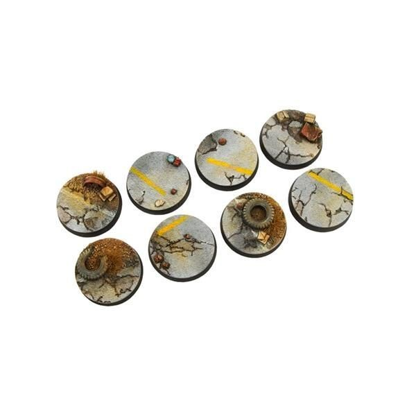HIGHWAY BASES: 32mm Round (4)