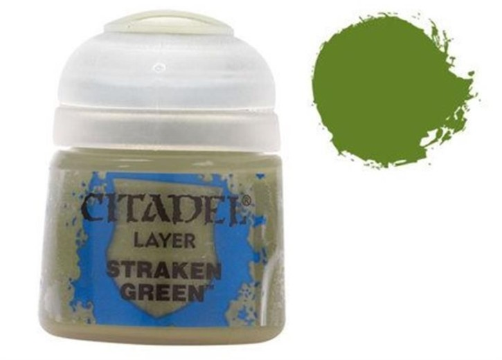 CITADEL LAYER: Straken Green
