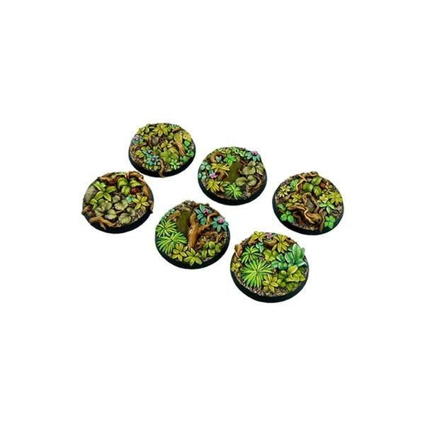 JUNGLE BASES: Round 40mm (2)