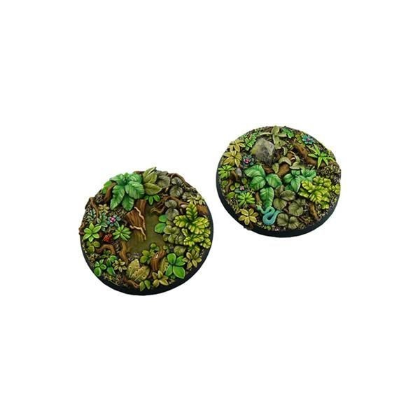 JUNGLE BASES: Round 60mm (1)