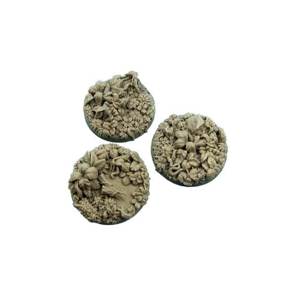 JUNGLE BASES: Round 50mm (2)