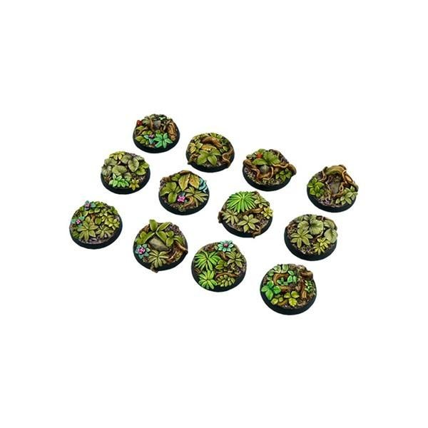 JUNGLE BASES: Round 25mm (5)
