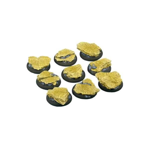 SHALE BASES: WRound 30mm (5)