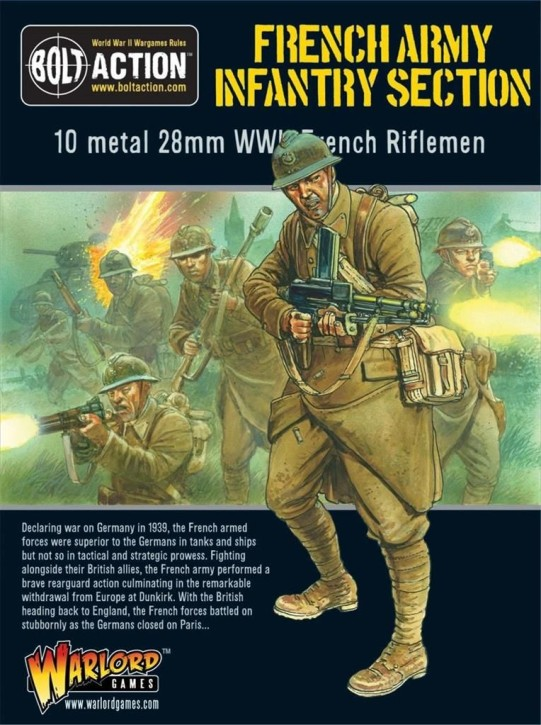 BOLT ACTION: French Infantry Section