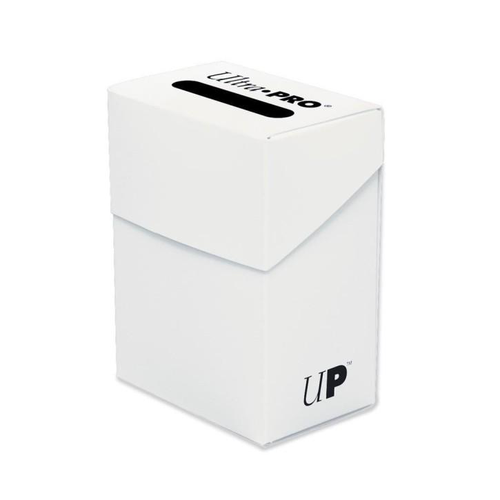 ULTRA PRO: Deck Box Weiß