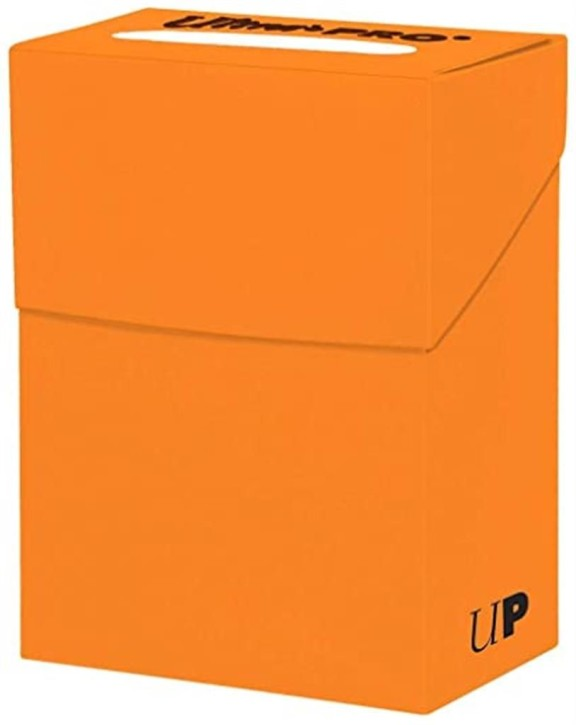 ULTRA PRO: Deck Box Pumpkin Orange