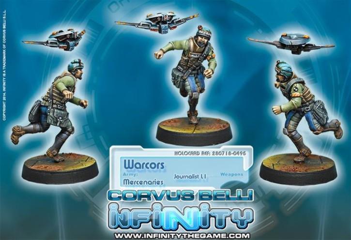 Infinity: Warcors, War Correspondents