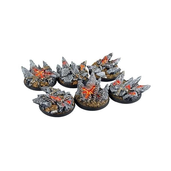 CHAOS BASES: Round 40mm (2)
