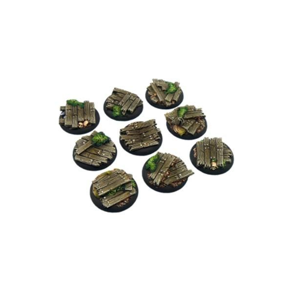 WOOD BASES: WRound 30mm (5)