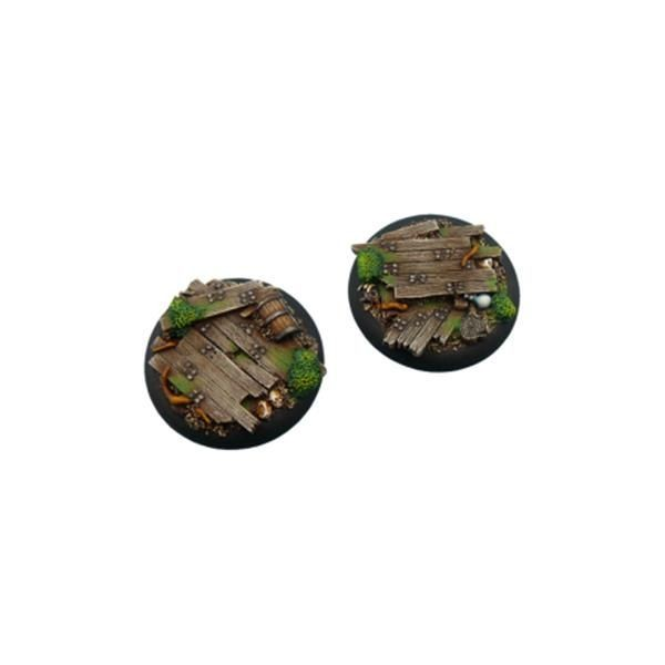 WOOD BASES: WRound 50mm (1)