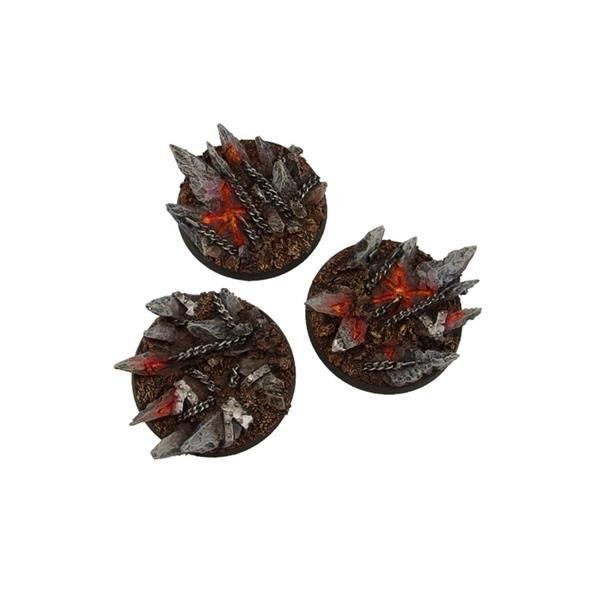 CHAOS BASES: Round 50mm (2)