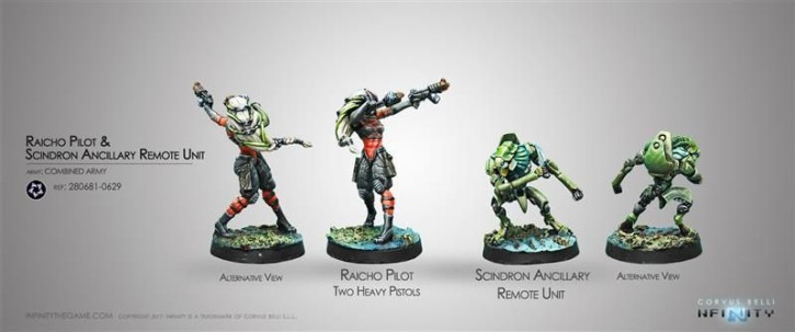 INFINITY: Combined Army TAG Pilot Set