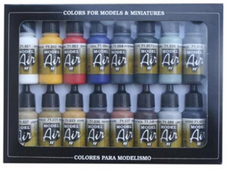 Model Air: Set Basiccolours (16)
