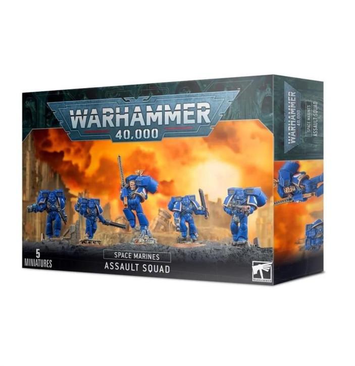 W40K: Space Marine Assault Squad