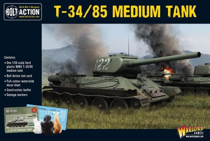 BOLT ACTION: T34/85 Soviet Medium Tank