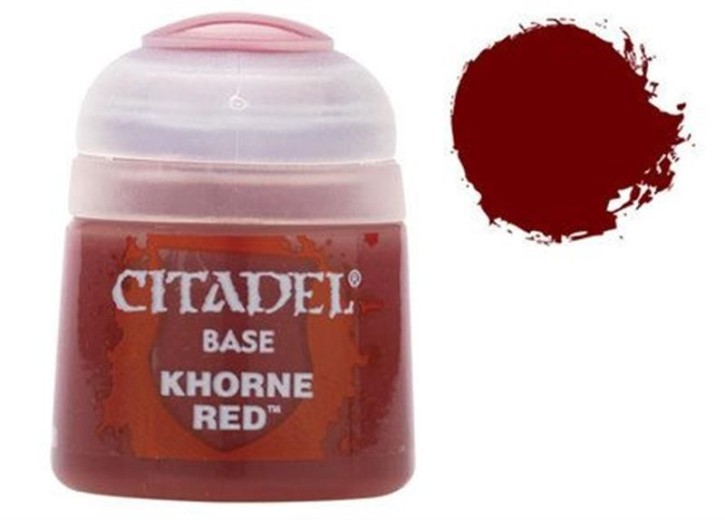 CITADEL BASE: Khorne Red