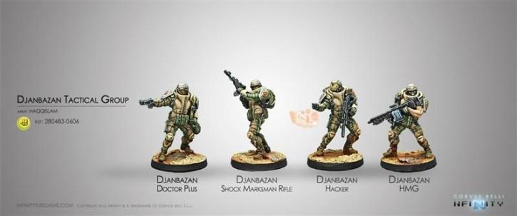 INFINITY: Djanbazan Tactical Group