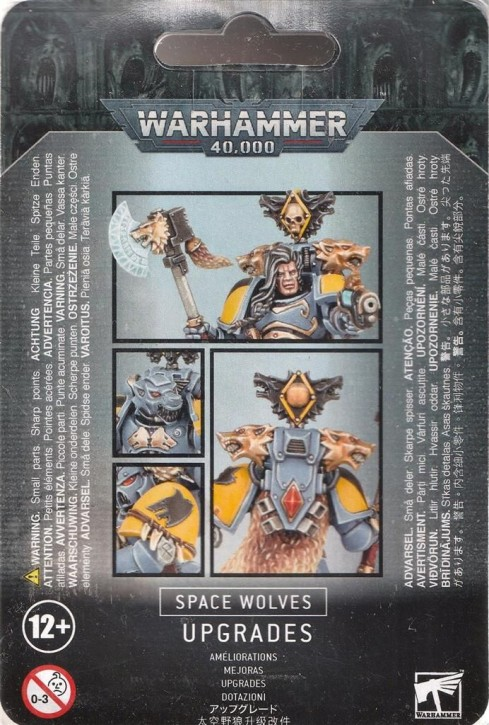 W40K: Upgradeset: Space Wolves