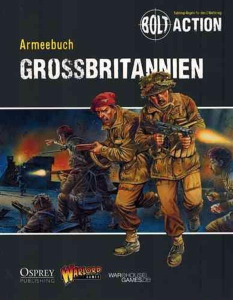 BOLT ACTION: Armeebuch Großbritannien - DE