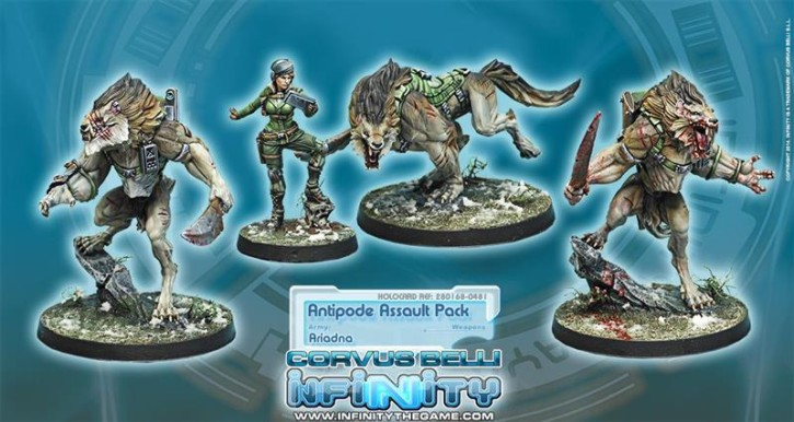Infinity: Antipode Assault Pack