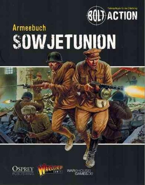 BOLT ACTION: Armeebuch Sowjetunion - DE
