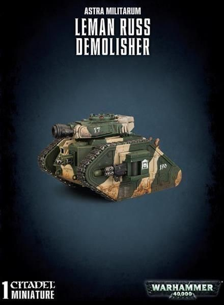 W40K: Leman Russ Demolisher