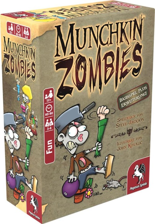 MUNCHKIN: Zombies 1+2 - DE