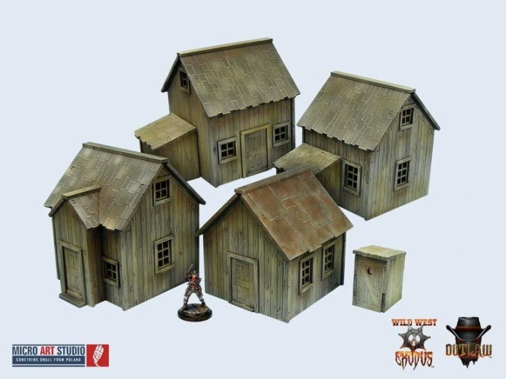 MICRO ART: WWX Western Cottages