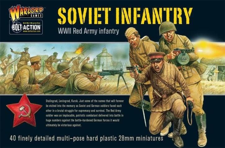 BOLT ACTION: Soviet Infantry (40)