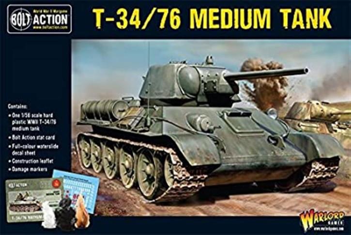 BOLT ACTION: T34/76 Medium Tank