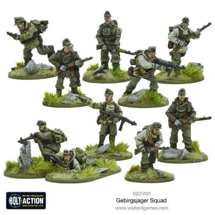 BOLT ACTION: Gebirgsjager squad