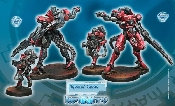 "INFINITY: ""Iguana"" Squadron"