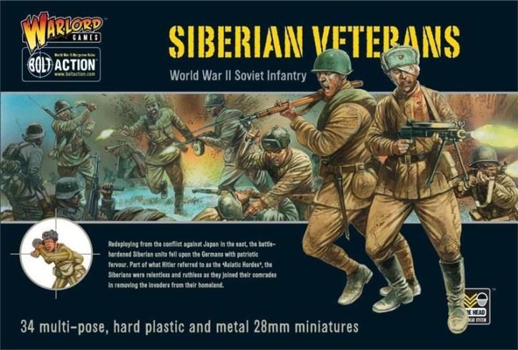 BOLT ACTION: Siberian Veterans