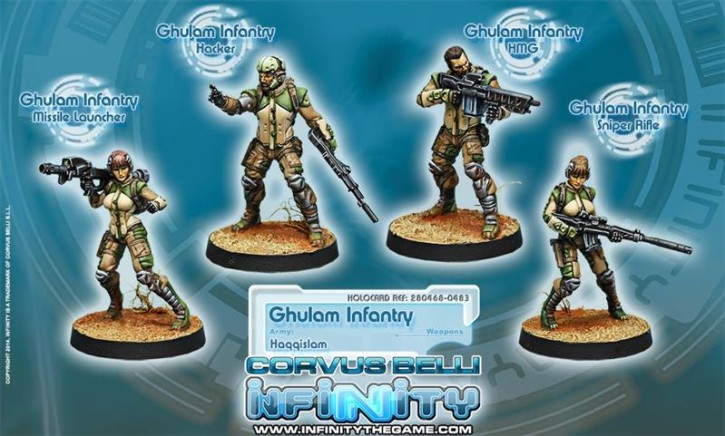 INFINITY: Ghulam Infantry