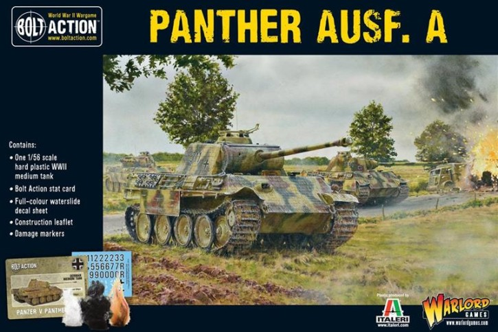 BOLT ACTION: Panther Ausf. A