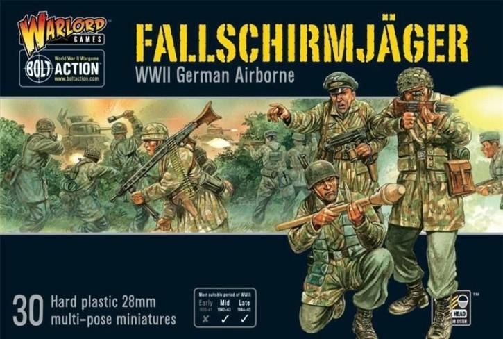 BOLT ACTION: Fallschirmjäger