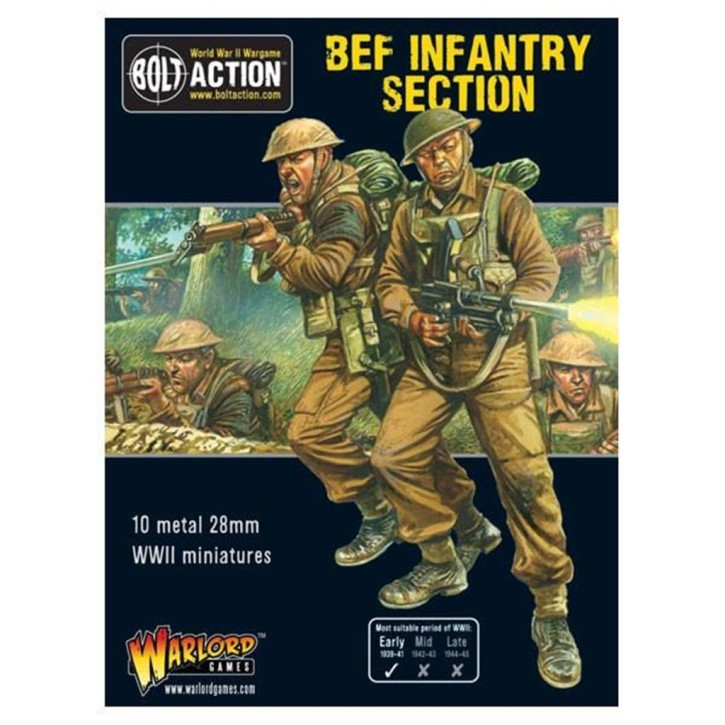 BOLT ACTION: BEF Section
