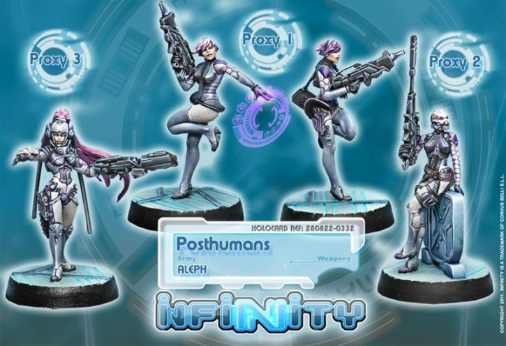 INFINITY: Posthumans