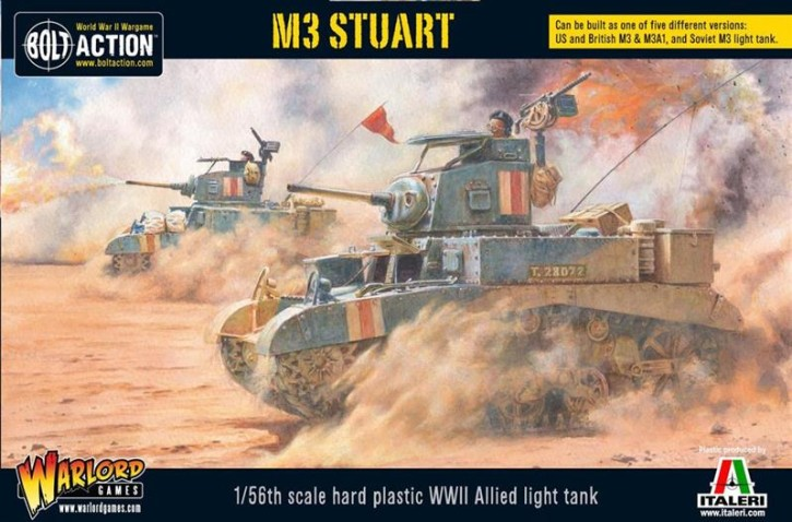 BOLT ACTION: M3 Stuart