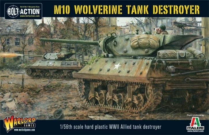 BOLT ACTION: M10 Wolverine Tank Destroyer